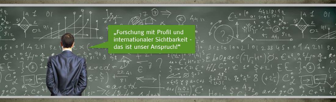 Forschung an der Hochschule Schaffhausen